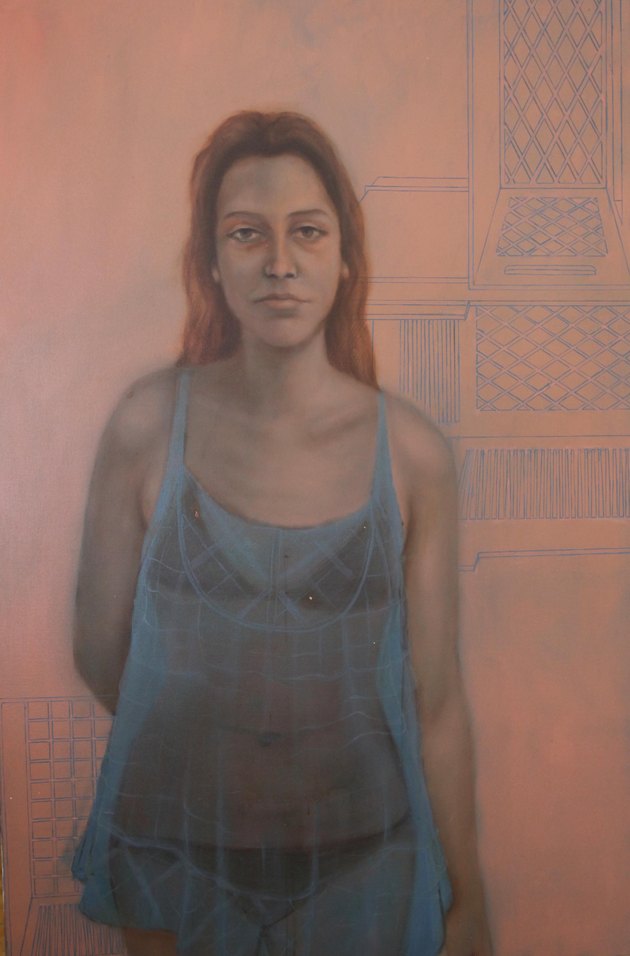 Senza titolo,| olio su tela, 120x100cm, 2011
